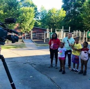 FOX5 GOOD DAY ATLANTA broadcasts LIVE! from Camp Hope