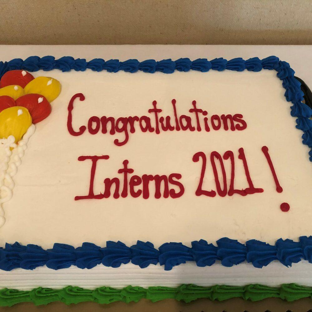 Intern Celebration 10 Cake